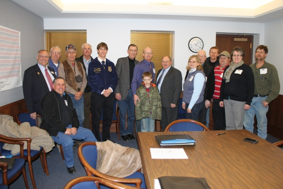 Brown, Lac Qui Parle, Lyon and Yellow Medicine Counties with Senator Dahms