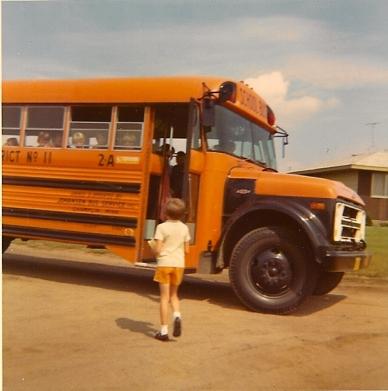 Hopping on the Anoka-Hennepin Dist 11 bus