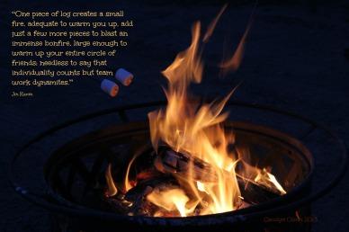 CarolynCares Bonfire