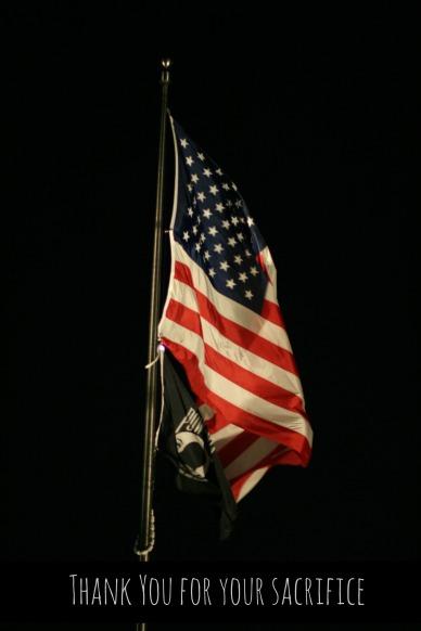 CarolynCares POW flag