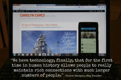 CarolynCares Social Media