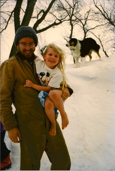 Jonathan, Christina, and Sampson Winter 1996