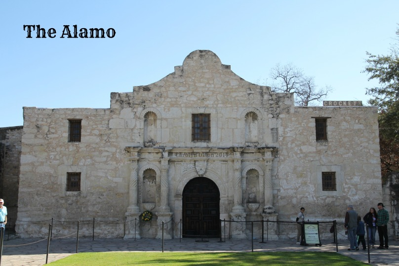 CarolynCares The Alamo