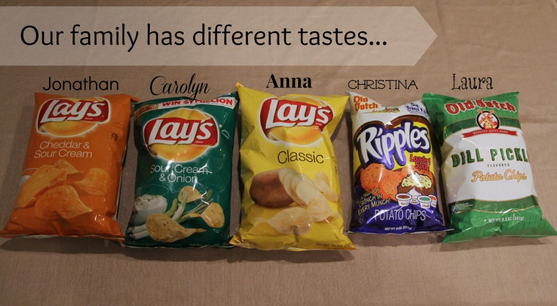 CarolynCares Different Flavors